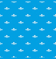 logistic pattern seamless blue vector image vector image