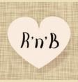 rnb dance vector image vector image