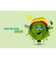 Saving the Earth ecology concept vector image vector image