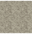 seamless hand-drawn pattern vector image