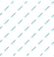 Syringe pattern cartoon style vector image vector image