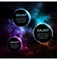 Three planets vector image vector image