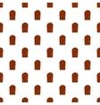 Wooden door pattern cartoon style vector image vector image