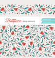 bellflower floral element wedding design vector image vector image