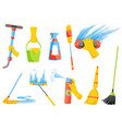 domestic housework household cleaning vector image