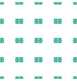 football pitch icon pattern seamless white vector image vector image