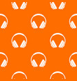 headphone pattern seamless vector image vector image