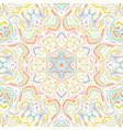 mandala arabic vintage seamless pattern vector image vector image