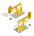 Oil Pump Energy Industrial vector image vector image
