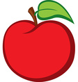 red apple vector image vector image