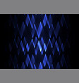 sapphire fractal crystal shine abstract vector image