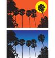 sugar palm vector image vector image