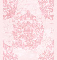 vintage baroque pattern beautiful ornament vector image vector image