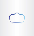 chef hat stylized symbol vector image