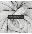 abstract background with intricate intertwining vector image vector image