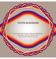 beige color gradient background frame fiber cable vector image