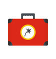 electric toolbox icon flat style vector image