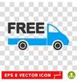Free Delivery Eps Icon vector image