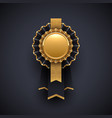 gold and black award badge with glitter