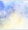 grunge watercolor background vector image vector image