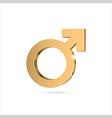 male gender symbol mars vector image vector image