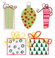 ornaments-gifts vector image