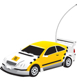 Remote Controlled Car vector image