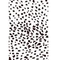 stylized cheetah skin pattern vector image