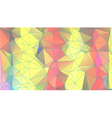 abstract triangular geometric background vector image vector image