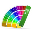 Color Guide vector image vector image