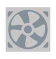simple fan icon vector image vector image
