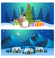 cartoon christmas vector image