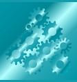 cogs and gear wheel mechanisms hi-tech digital vector image vector image