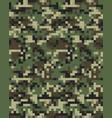 digital fashionable camouflage seamless vector image