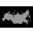map of russia geography vector image vector image