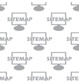 New Sitemap seamless pattern vector image vector image