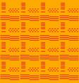 seamless african adinkra pattern vector image vector image