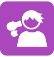 Hair Drying vector image vector image