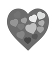 Hearts II vector image