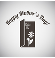 Mothers Day Emblem vector image