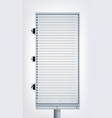 promotional light vertical billboard vector image vector image