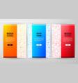 rosh hashana brochure web design vector image