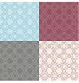 Seamless vintage decorative pattern vector image