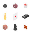 set of game icons vector image vector image