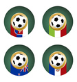World Cup Group vector image vector image