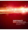 Abstract bokhe lights background Disco music vector image vector image