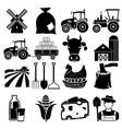 Farm icon vector image vector image