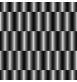 Op Art Design Striped Checkered Seamless Pattern vector image