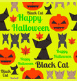 seamless texture for wrapping at halloween vector image vector image
