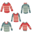 ugly sweaters vector image